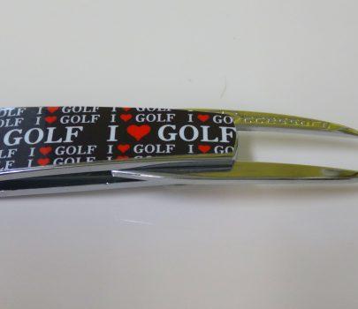 【グリーンフォーク】ゴルフ Smart Forkシルバー(ブラック)2,500円