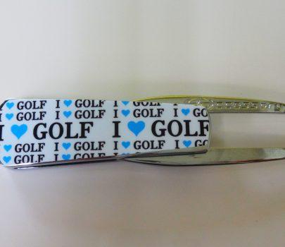 【グリーンフォーク】ゴルフ Smart Forkシルバー(ブルー)2,500円